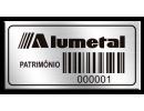 Etiqueta de patrimônio - 40x20mm